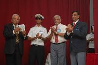 Mr. Ramamurthy releasing the CD of Transtech 10